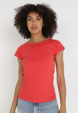 Czerwony T-shirt Himenara