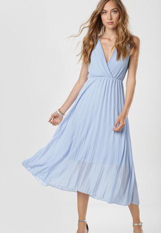 Niebieska Sukienka Dorealure