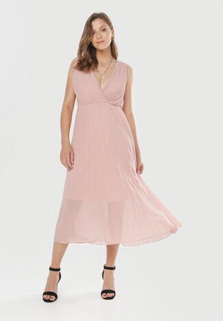 Różowa Sukienka Dorealure