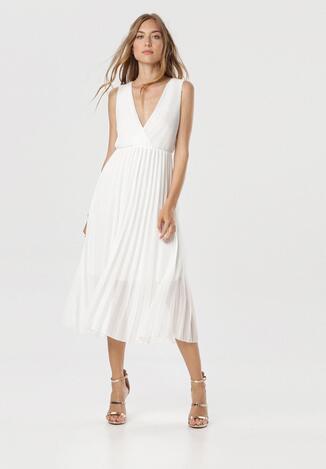 Biała Sukienka Dorealure