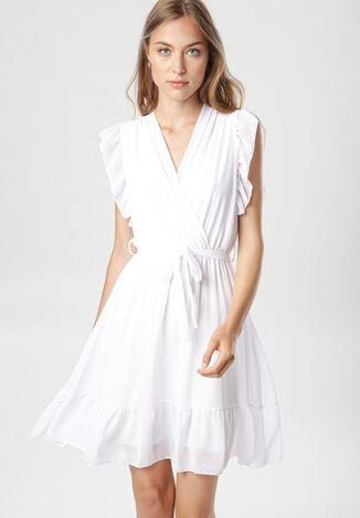 Biała Sukienka Phiaphine