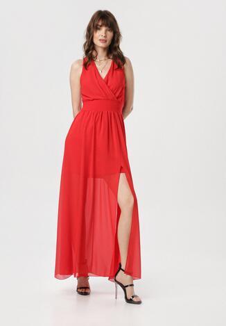 Czerwona Sukienka Corarena