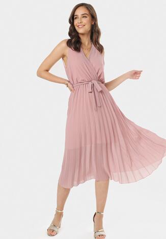 Różowa Sukienka Thessadah