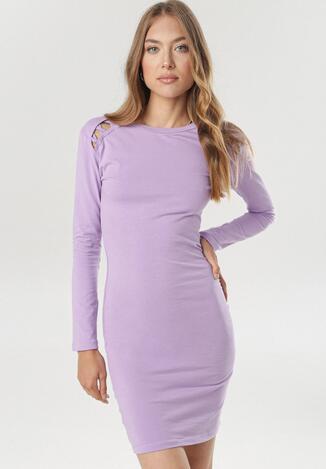 Jasnofioletowa Sukienka Vivithia