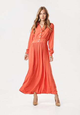 Pomarańczowa Sukienka Naridina