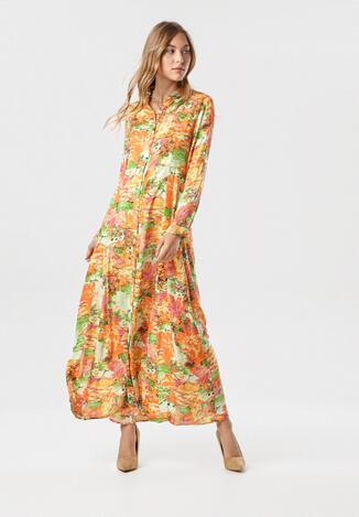 Żółta Sukienka Mollis