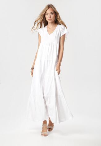Biała Sukienka Nysaphite