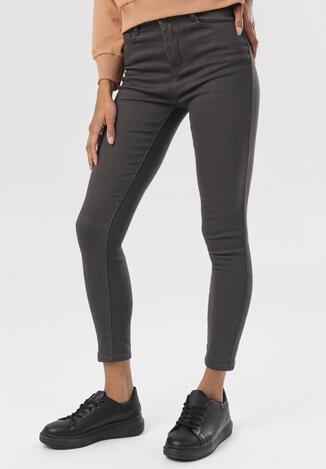 Ciemnoszare Spodnie Skinny Hireia