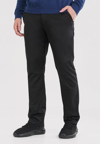 Czarne Spodnie Geninna