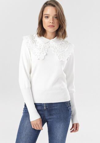 Biały Sweter Atenia