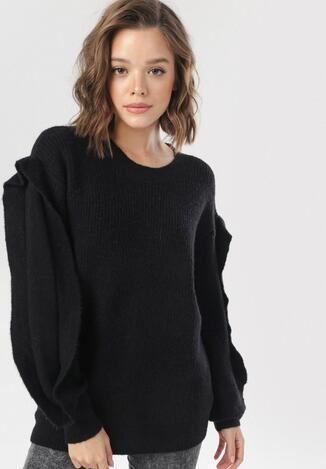 Czarny Sweter Eshiraya