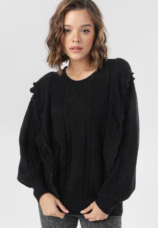 Czarny Sweter Daemlyn
