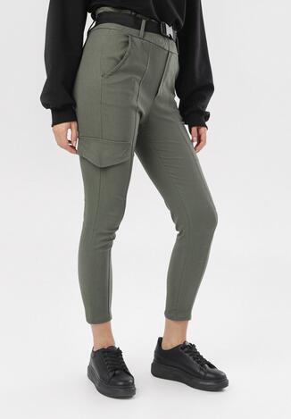 Zielone Spodnie Penania