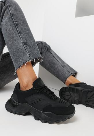 Czarne Sneakersy Kyloth
