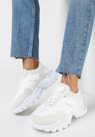 Białe Sneakersy Kyloth