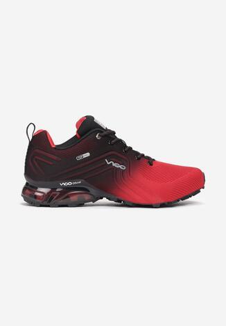 Czarno-Czerwone Buty Sportowe Vhesiesh