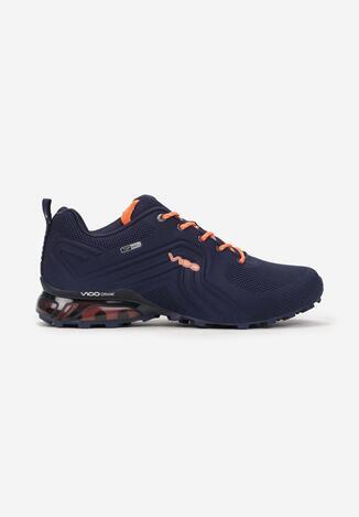 Granatowo-Pomarańczowe Buty Sportowe Vhesiesh