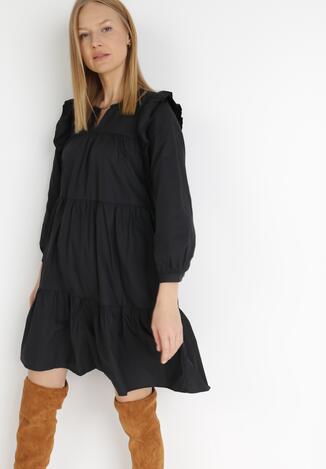 Czarna Sukienka Sose