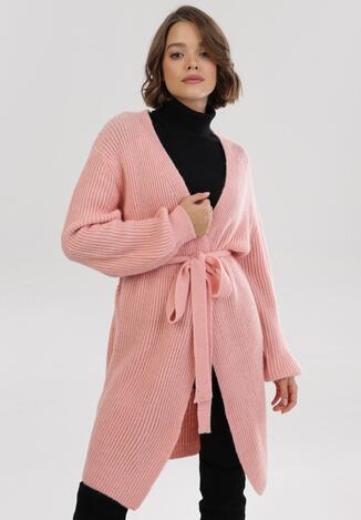 Różowy Kardigan Pontropeira