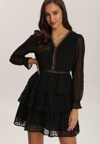 Czarna Sukienka Leuciphi
