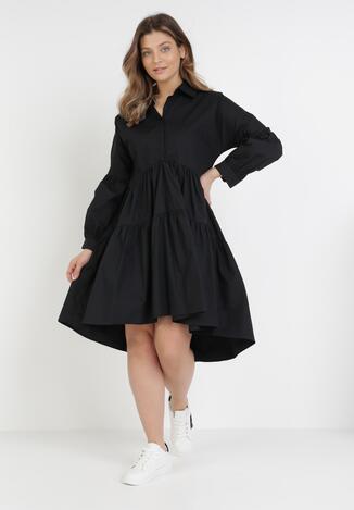 Czarna Sukienka Sylcyne