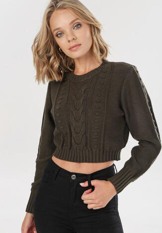 Zielony Sweter Cremia