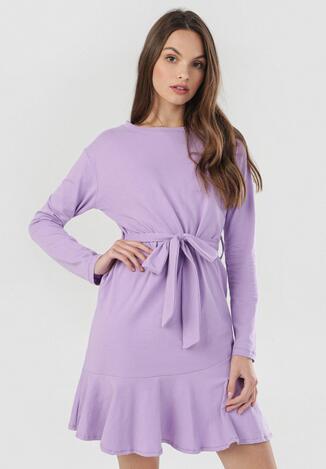 Jasnofioletowa Sukienka Cahrthine