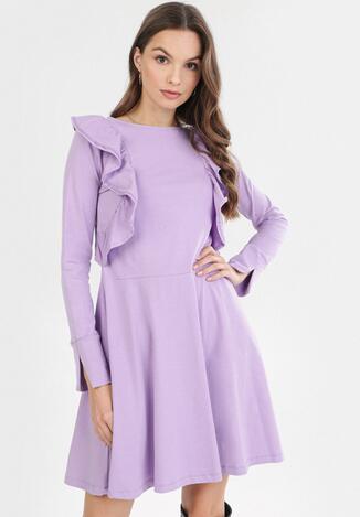 Jasnofioletowa Sukienka Kylienne