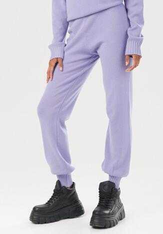 Fioletowe Spodnie Elinera