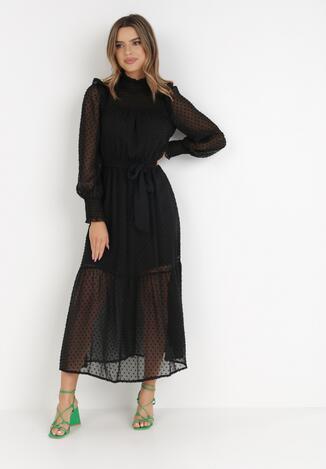 Czarna Sukienka Sarysha