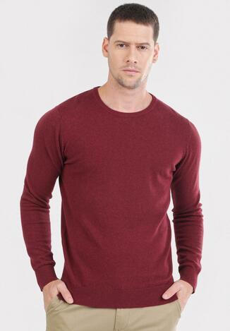 Bordowy Sweter Cahrtia