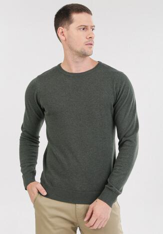 Zielony Sweter Cahrtia