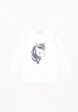 Biały Sweter Eshiress