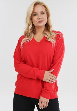 Czerwony Sweter Eshiraith