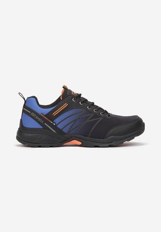 Czarno-Niebieskie Buty Sportowe Elinlia