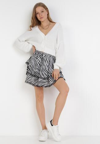 Biało-Czarna Spódnica Phisney