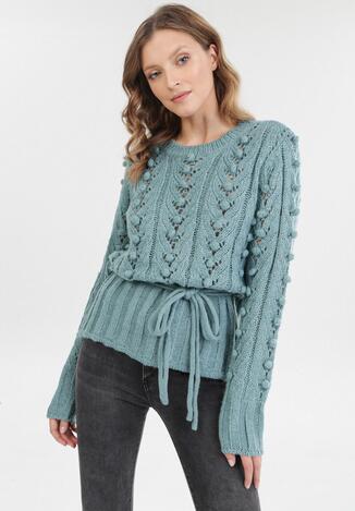 Niebieski Sweter Jilyra