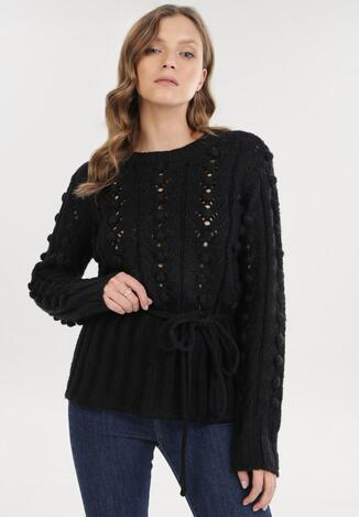 Czarny Sweter Jilyra