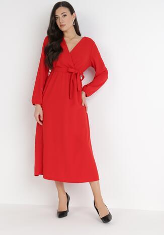 Czerwona Sukienka Xyloris