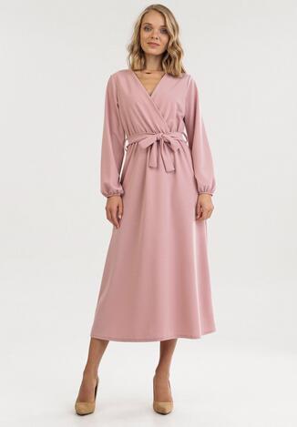 Różowa Sukienka Xyloris