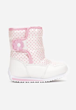 Biało-Różowe Śniegowce Vheseva