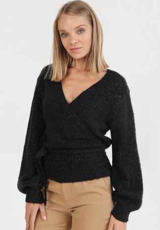 Czarny Sweter Wylineth