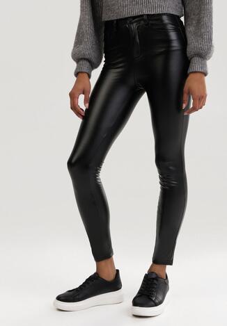 Czarne Spodnie Push Up Risvielle