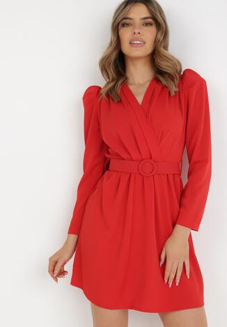 Czerwona Sukienka Kahlisise