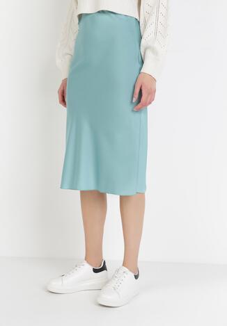 Miętowa Spódnica Nereirith