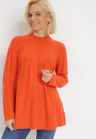 Pomarańczowy Sweter Dorisis