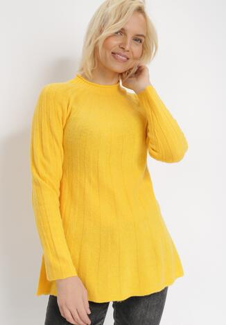 Żółty Sweter Dorisis