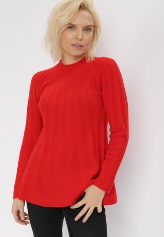Czerwony Sweter Dorisis