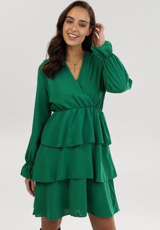 Zielona Sukienka Hawkchaser