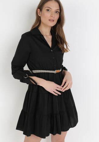 Czarna Sukienka Fogmane